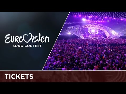 Get your tickets for the 2016 Eurovision Song Contest!