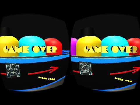 VIRTUAL REALITY Pac-Man