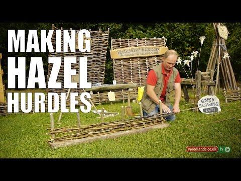 Making Hazel Hurdles