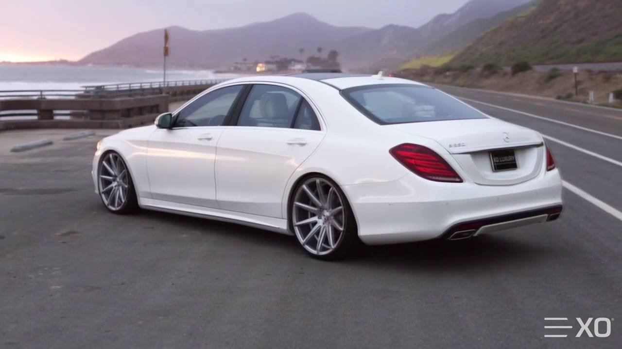2015 Mercedes Benz S550 On Xo Luxury Sydney Wheels Youtube