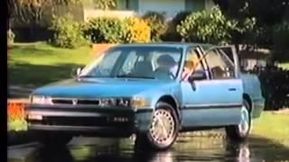 1990 commercials  Honda Accord
