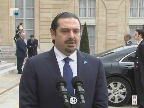 الحريري من الإليزيه: هولاند حريص على إنهاء الفراغ الرئاسي في لبنان