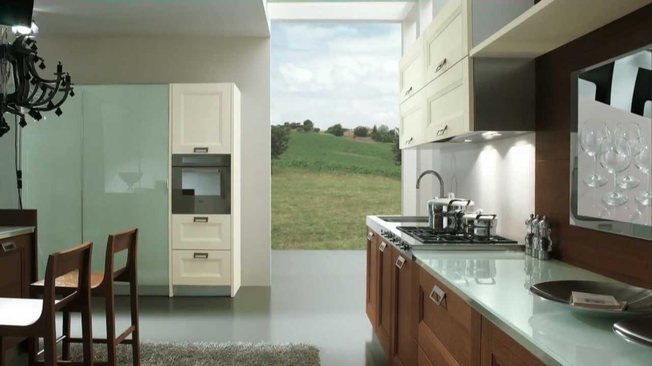 arredamento cucina in stile moderno vittoria by claris