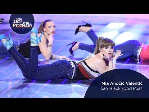 Mia Anočić Valentić kao Black Eyed Peas: My Humps