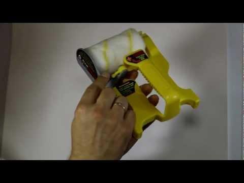 АкуБраш - малярный валик для покраски углов и стыков.