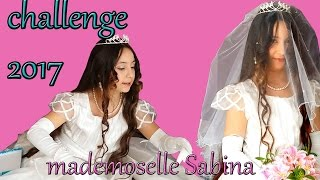 ESSAIE DE DEVENIR  UNE MARIEE CHALLENGE 2017! Try to become a bride!!!