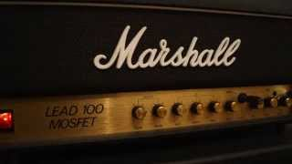 Marshall Lead 100 Mosfet (3210) HQ Audio