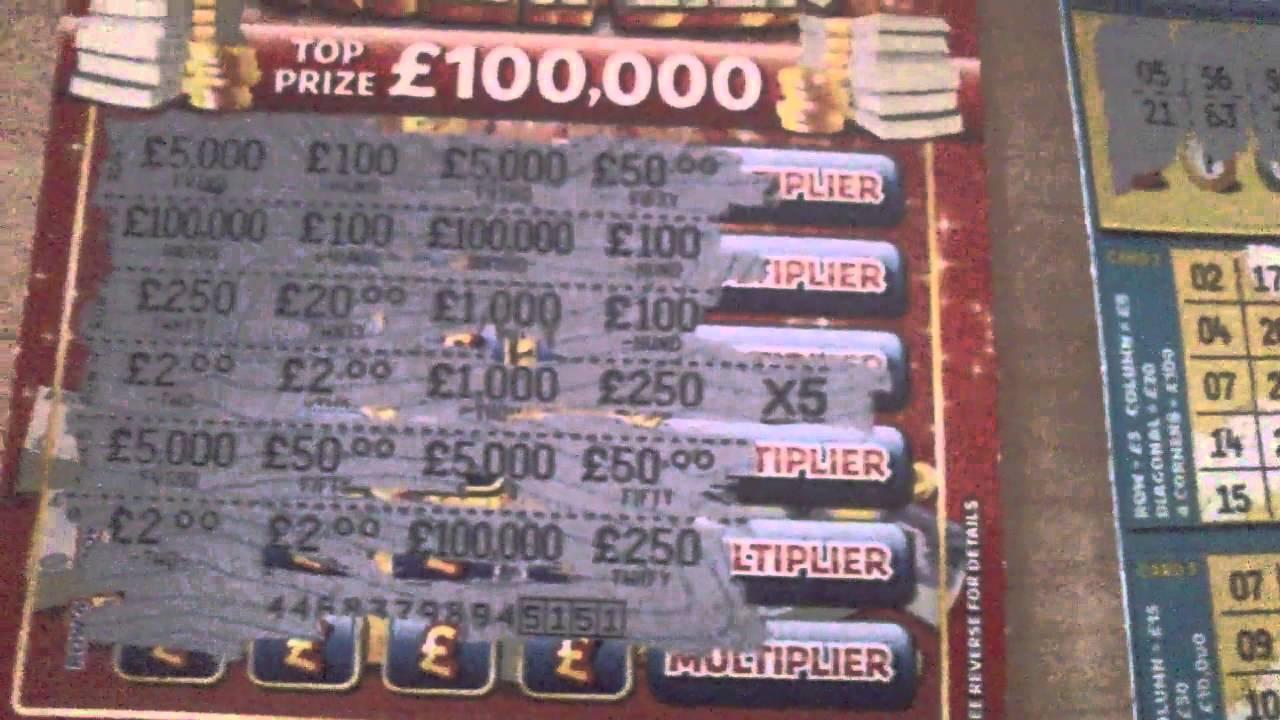scratch card winner