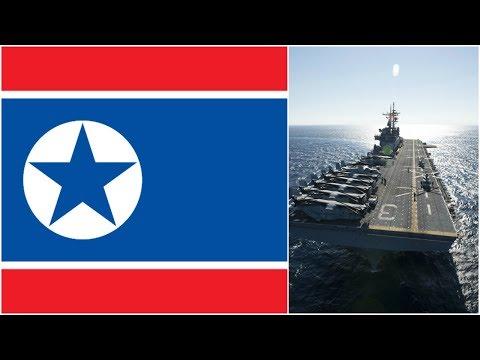 US navy vs North Korea