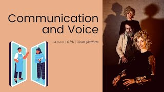 Communication and voice practice - voice expression