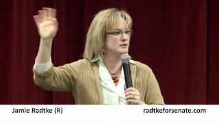 Jamie Radtke (R) on 17th Amendment and Repeal Amendment