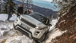 видео: Audi SQ7DUSTERRANGE ROVER EVOQUE / OFF ROAD @TURKIYE RIZE
