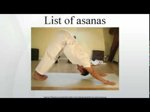 List of asanas
