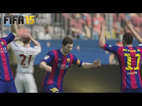 Temporadas Online | FIFA 15 Gameplay en PS4 - Barcelona Vs Bayern Munich - Imparable !!!