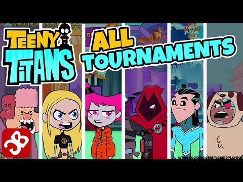 Teeny Titans - All Tournaments Battles - iOS / Android - Gameplay Video