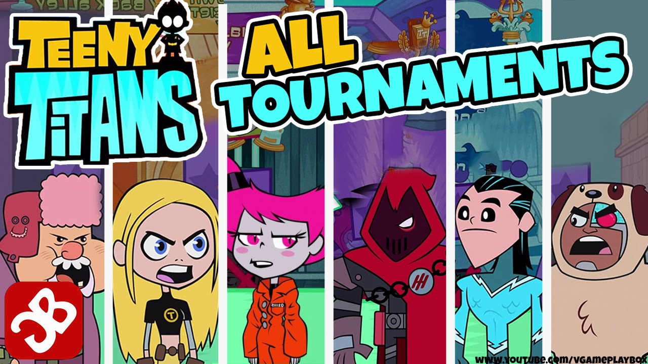 Teeny Titans - All Tournaments Battles - Ios  Android -5460