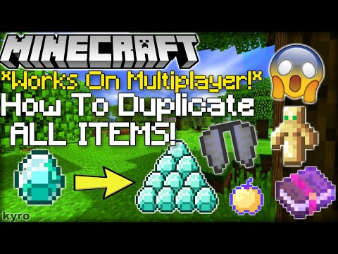ALL WORKING DUPLICATION GLITCHES! (ANY ITEM) Minecraft (Village and Pillage Glitch)