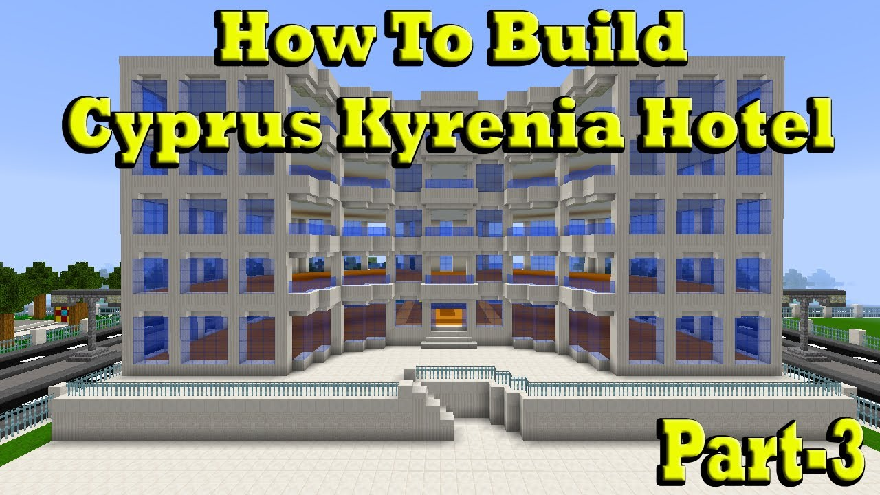 how to build a hotel in minecraft
