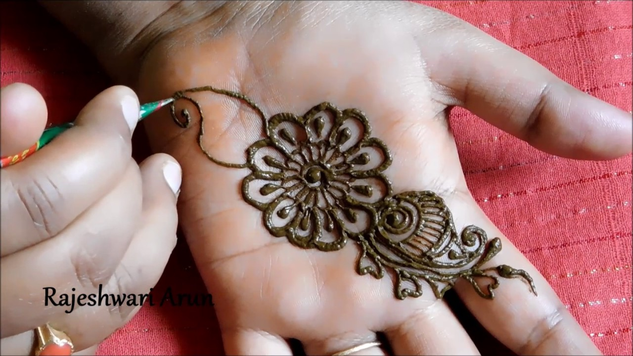 Simple Arabic Henna Mehndi Designs For Hands Arabic Mehndi
