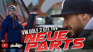 HOW DEEP? // VW GOLF 2 GTI 16V - NEUE PARTS