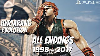 TEKKEN SERIES - All Hwoarang Endings 1998 - 2017 [1080P 60FPS] PS4 Pro