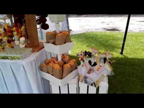 Mesa de dulces para boda!!