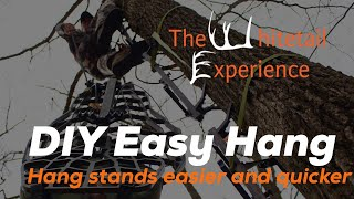 easy hang system self made DIY
