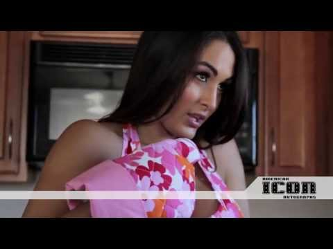 Nicole & Brianna The Bella Twins Photo Shoot Behind the s Video for American Icon Autographs