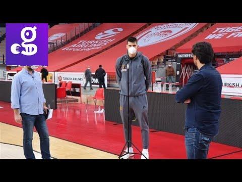 Tο post game του Ολυμπιακός - Παναθηναϊκός από ΣΕΦ με Μήτογλου
