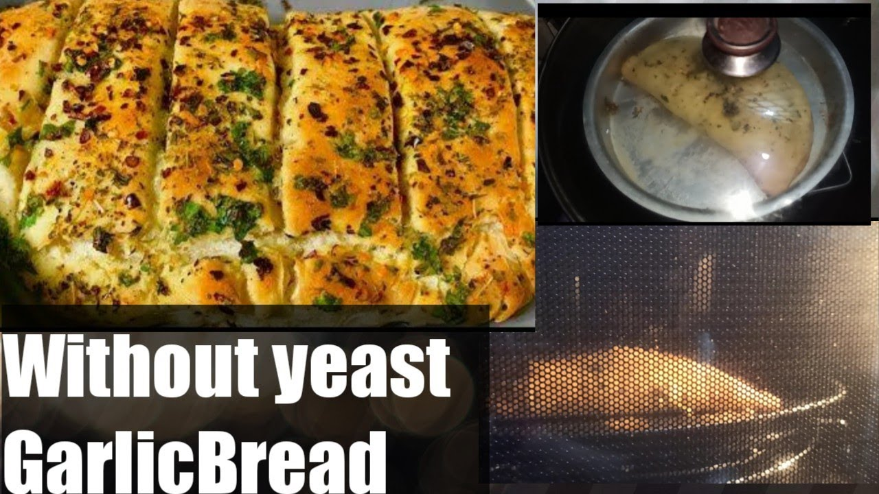 Garlic Bread recipe -without yeast cheese garlic Bread in ...