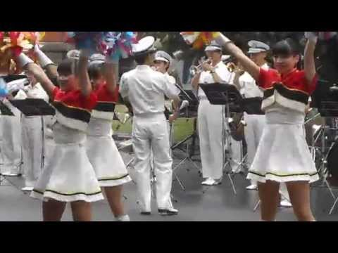 a performance of the police band on Sapporo old provincial office in Hokkaido, japan #2