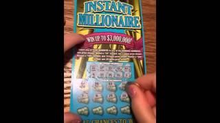 INSTANT MILLIONAIRE NY lottery ticket #2