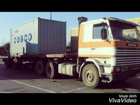 Stari Kamioni. TRANSKOP Bitola MK Ex YU 2 Deo. Old Yugoslav Trucks. TIR Transports.