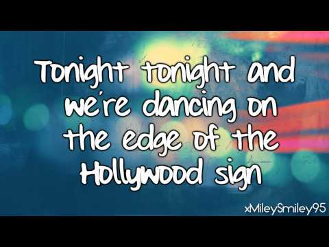 Hot Chelle Rae - Tonight Tonight (with lyrics)