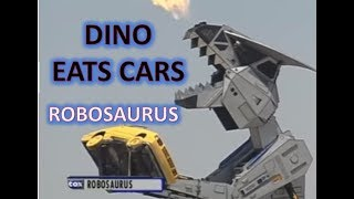 Watch Robosaurus Eat Cars