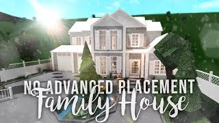 Roblox   Bloxburg: No Advanced Placement Family House   House Build