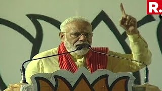 Watch PM Narendra Modi& 39 s Explosive Speech At Dum Dum West Bengal Full Speech