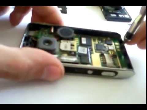 jak rozebrac ku990 wymiana wyswietlacza LCD disassembly