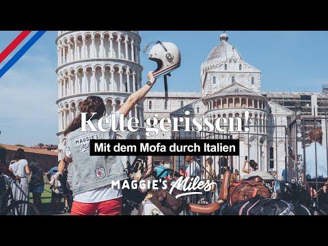 Mofakette in Italien gerissen   Roadtrip geht weiter!