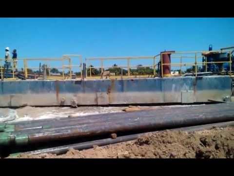 Belize Operations - San Juan #3 - Drilling at 700ft