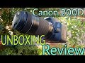 Canon 200D Dslr UNBOXING REVIEW In Telugu By Sunny mp3