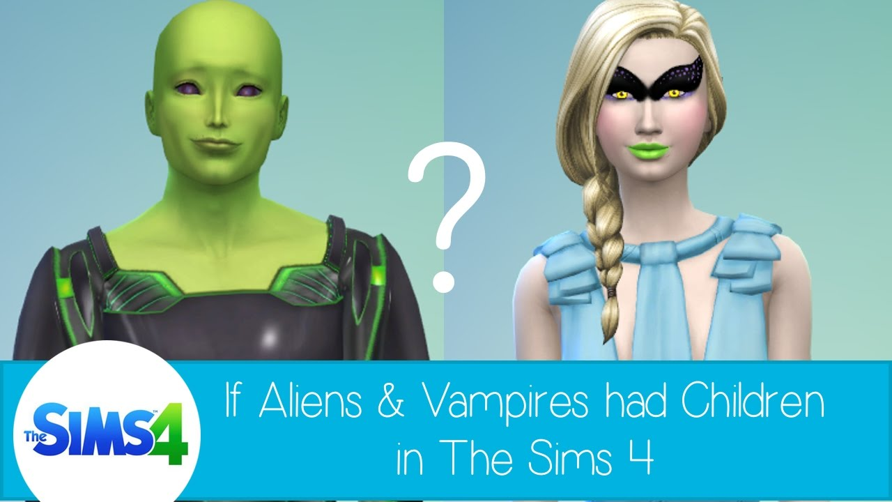the sims 4 how to become a vampire baby