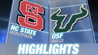 NC State vs South Florida | 2014 ACC Football Highlights