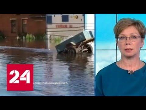 """""""Погода 24"""": в Московской области резко поднялся уровень рек"""
