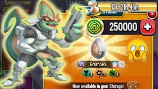Monster Legends Galactic Expedition maze island review cost Grumpex Zameleon