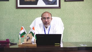 Chief Minister Shri N. Biren Singh -  Manipur Covid Stories