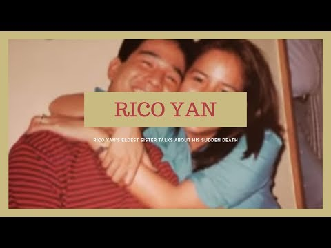 Rico Yan's eldest sister talks about his sudden death  Tunay na Buhay
