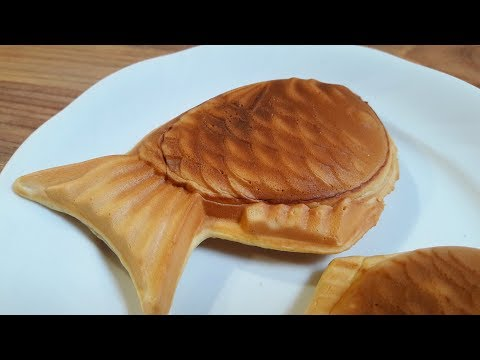 Taiyaki (Japanese Fish-Shaped Warm Cake)