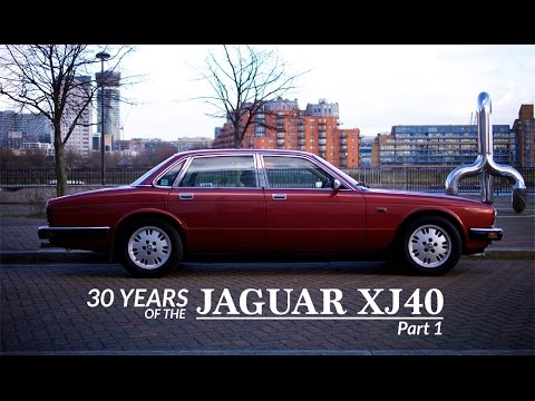 30 Years of the Jaguar XJ40 - Part 1