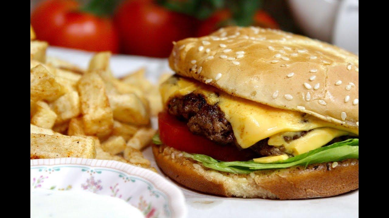 Yummy Cheese Burger برغر بالجبن لذيذ Youtube